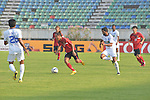 Ayeawady United vs New Radiant SC during the 2015 AFC Cup 2015 Group H match on April 15, 2015 at the Youth Training Centre in Yangon, Myanmar. Photo by Pyae Sone Aung / World Sport Group