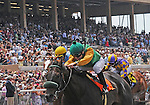 July 20, 2011.Price ridden by Joseph Talamo wins the first race on opening day at Del Mar Thoroughbred Club, Del Mar CA.