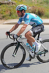 Race leader Mark Cavendish (GBR) Etixx-Quick Step during Stage 2 of the 2015 Presidential Tour of Turkey running 182km from Alanya to Antalya. 27th April 2015.<br /> Photo: Tour of Turkey/Stiehl Photography/Mario Stiehl/www.newsfile.ie