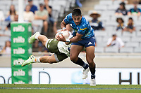14th March 2021; Eden Park, Auckland, New Zealand;  Blues centre Rieko Ioane  - during the Super Rugby Aotearoa rugby match between the Blues and the Highlanders held at Eden Park, Auckland, New Zealand.