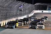 #51: Christian Eckes, Kyle Busch Motorsports, Toyota Tundra SiriusXM and #18: Harrison Burton, Kyle Busch Motorsports, Toyota Tundra Safelite AutoGlass