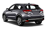 Car pictures of rear three quarter view of a 2019 Honda HR-V Sport 5 Door SUV angular rear