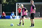 15.09.2020, Sportpark Illoshöhe, Osnabrück, GER, 2. FBL, Training VfL Osnabrueck <br /> <br /> im Bild<br /> Bryan Henning (VfL Osnabrück, 29) am Ball.<br /> <br /> Foto © nordphoto / Paetzel