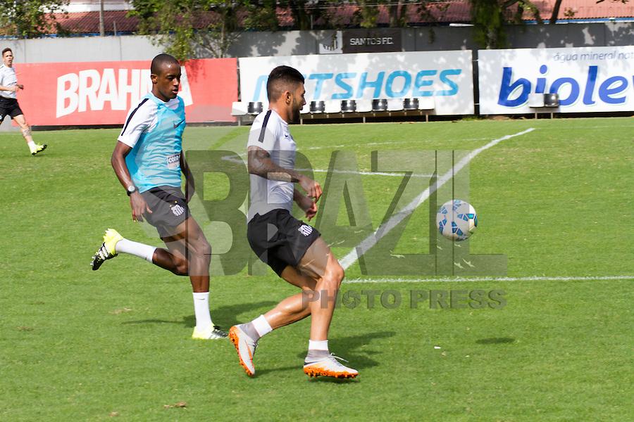 SANTOS, SP, 15.07.2015 - FUTEBOL- SANTOS - Gabigol, jogador do Santos durante sessão de treinamento no Centro de Treinamento Rei Pelé nesta quarta-feira, 15. (Foto: FlavioHopp/Brazil Photo Press)