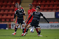 Joe Widdowson of Leyton Orient and Tom Nichols of Crawley Town during Leyton Orient vs Crawley Town, Sky Bet EFL League 2 Football at The Breyer Group Stadium on 19th December 2020