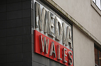 Pictured: The new Media Wales building in Cardiff. Friday 12 May 2017<br /> Re: The site at Havelock Street in Cardiff, where Media Wales (Western Mail and Echo) used to be located. They have now moved to a smaller building adjacent to it in Wales, UK