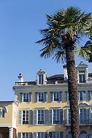 France, Aquitaine, Pyrénées-Atlantiques, Béarn, Pau: Villa Cadaval, Boulevard des Pyrénées //  France, Pyrenees Atlantiques, Bearn, Pau: Villa Cadaval, Boulevard des Pyrénées