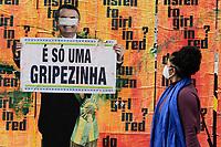 23.09.2020 - Lambe Jair Bolsonaro na av Paulista em SP