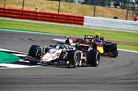 18th July 2021; Silverstone Circuit, Silverstone, Northamptonshire, England; F2 British Grand Prix, Race Day;  10 Pourchaire Théo (fra), ART Grand Prix, Dallara F2