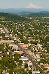 Aerial View of the Hawthorne District, Portland, Oregon