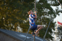 Fierljeppen: IT HEIDENSKIP: 28-07-2018, ©foto Martin de Jong