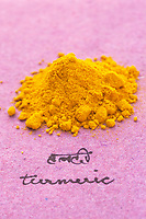 Asie/Inde/Maharashtra/Bombay : Les épices dans la cuisine indienne - Curcuma