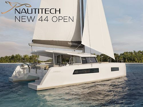 The new Nautitech 44 OPEN is coming in 2022 and is available in Ireland from Mark Mansfield of Key Yachting