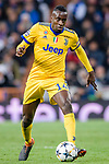 Blaise Matuidi of Juventus in action during the UEFA Champions League 2017-18 quarter-finals (2nd leg) match between Real Madrid and Juventus at Estadio Santiago Bernabeu on 11 April 2018 in Madrid, Spain. Photo by Diego Souto / Power Sport Images