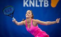 Amstelveen, Netherlands, 18  December, 2020, National Tennis Center, NTC, NK Indoor, National  Indoor Tennis Championships,   : Sem Wensveen (NED) <br /> Photo: Henk Koster/tennisimages.com