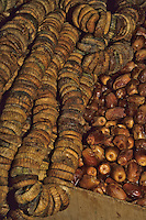 Fez, Morocco - Dates and Dried figs in the Fez Market.