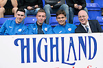 Inverness Caley Thistle v St Johnstone…27.08.16..  Tulloch Stadium  SPFL<br />Eoghan McCawl, Connor McLaren, Aaron Comrie and Paul Smith<br />Picture by Graeme Hart.<br />Copyright Perthshire Picture Agency<br />Tel: 01738 623350  Mobile: 07990 594431