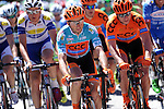 Race leader Davide Rebellin (ITA) CCC Sprandi Polkowice during Stage 5 of the 2015 Presidential Tour of Turkey running 159.9km from Mugla to Pamukkale. 30th April 2015.<br /> Photo: Tour of Turkey/Mario Stiehl/www.newsfile.ie