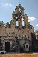 San Antonio:  Mission Espada Belltower.  Photo '96.