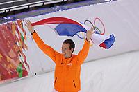 OLYMPICS: SOCHI: Adler Arena, 12-02-2014, 1000m Men, olympisch kampioen Stefan Groothuis (NED), ©foto Martin de Jong