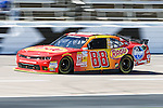Nationwide Series driver Dale Earnhardt Jr. (88) in action during the NASCAR Nationwide Series qualifying at Texas Motor Speedway in Fort Worth,Texas.