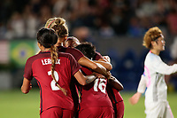Carson, CA - Thursday August 03, 2017: Lynn Williams during a 2017 Tournament of Nations match between the women's national teams of the United States (USA) and Japan (JPN) at the StubHub Center.