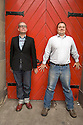 Paul Stokes[glasses] and Neil Rafferty of The Daily Mash ,a satirical website . CREDIT Geraint Lewis