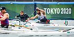 Mathieu St-Pierre, Tokyo 2020 - Para Canoe // Para canoë.<br /> Mathieu St-Pierre competes in the VL2 heats at the Sea Forest Waterway // Mathieu St-Pierre participe aux manches VL2 sur la voie navigable Sea Forest. 09/09/2021.