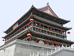 Ancient Bell Tower in Xian, China.  Originally built in 1348.