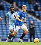 25.07.2020 Rangers v Coventry City: Scott Arfield and Johnny Ngandu