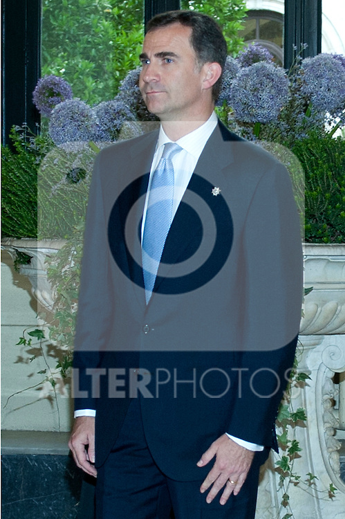 The Prince of Asturias Felipe de Borbon presides over the closing dinner of the XXII General Assembly of the Association of Councils of State and Supreme Administrative Jurisdictions of the European Union (ACA-EUROPE).(Alterphotos/Ricky)