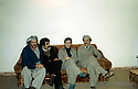 Iran 1979  In Mahabad, 3rd from left, Hassan Shatavi  with Abdul Rahman Ghassemlou Iran 1979 A Mahabad, 2eme a droite Hassan Shatavi assis a coté de Abdul Rahman Ghassemlou