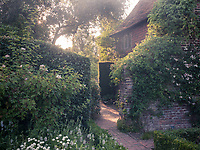 The once overgrown gardens and ruined walls have been restored to their former glory and are now overseen by the National Trust