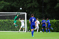 Nathan Shepperd of Swansea City in action during the Premier League u18 match between Swansea City AFC and Chelsea FC at Landore Training Ground, Wales, UK. Tuesday 11th September 2018