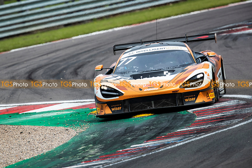 Morgan Tillbrook & Marcus Clutton, McLaren 720S GT3, Enduro Motorsport through Fogarty Esses during the British GT & F3 Championship on 11th July 2021