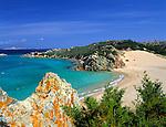 Italy, Sardinia, Island Maddalena: Spiaggia (beach) Monte d'Arena