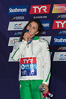 KESELYAjna HUN Silver Medal<br /> 400m Freestyle Women Final<br /> Glasgow 09/08/2018<br /> Swimming Tollcross International Swimming Centre<br /> LEN European Aquatics Championships 2018 <br /> European Championships 2018 <br /> Photo Giorgio Scala/ Deepbluemedia /Insidefoto