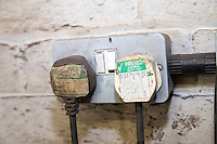 On farm 13 amp power socket and plug