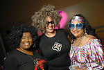 """Summer Snowflake Jones, Natalie Shackleford and Sade Erin at the Planned Parenthood's """"Party Like a Rock Star"""" benefit at Warehouse Live Saturday Aug. 22, 2009.(Dave Rossman/For the Chronicle)"""