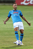 Amir Rrahmani of SSC Napoli<br /> during the friendly football match between SSC Napoli and L Aquila 1927 at stadio Patini in Castel di Sangro, Italy, August 28, 2020. <br /> Photo Cesare Purini / Insidefoto