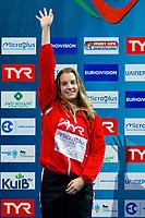 Michelle HEIMBERG SUI Silver Medal<br /> 3m. springboard women <br /> LEN European Diving Championships 2017<br /> Sport Center LIKO, Kiev UKR<br /> Jun 12 - 18, 2017<br /> Day04 15-06-2017<br /> Photo © Giorgio Scala/Deepbluemedia/Insidefoto