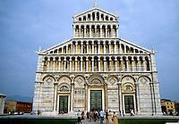 Italy: Pisa--Duomo, elevation. 1068-1118. Photo '83.
