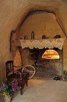 Europe/France/Pays de la Loire/49/Maine-et-Loire/Env Doué-la-Fontaine: Village troglodytique de la Fosse - Intérieur d'une maison