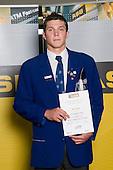 All Rounder category winner, Matt Duffie from St Kentigern College. ASB College Sport Young Sportperson of the Year Awards 2008 held at Eden Park, Auckland, on Thursday November 13th, 2008.