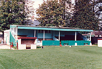 General view of Soham Town Rangers FC, Julius Martin Lane, Soham, Cambridgeshire, pictured on 26th September 1989