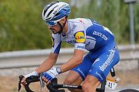 29th August 2020, Nice, France;  ALAPHILIPPE Julian (FRA) of DECEUNINCK - QUICK - STEP during stage 1 of the 107th edition of the 2020 Tour de France cycling race, a stage of 156 kms with start in Nice Moyen Pays and finish in Nice