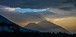 Virunga volcanoes, Rwanda