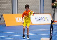 December 16, 2014, Rotterdam, Topsport Centrum, Lotto NK Tennis, Mini tennisbaantjes<br /> Photo: Tennisimages/Henk Koster