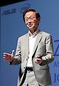 ASUS chairman Jonney Shih introduces new Zenbook 3