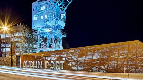 File image of Dublin Port Company headquarters